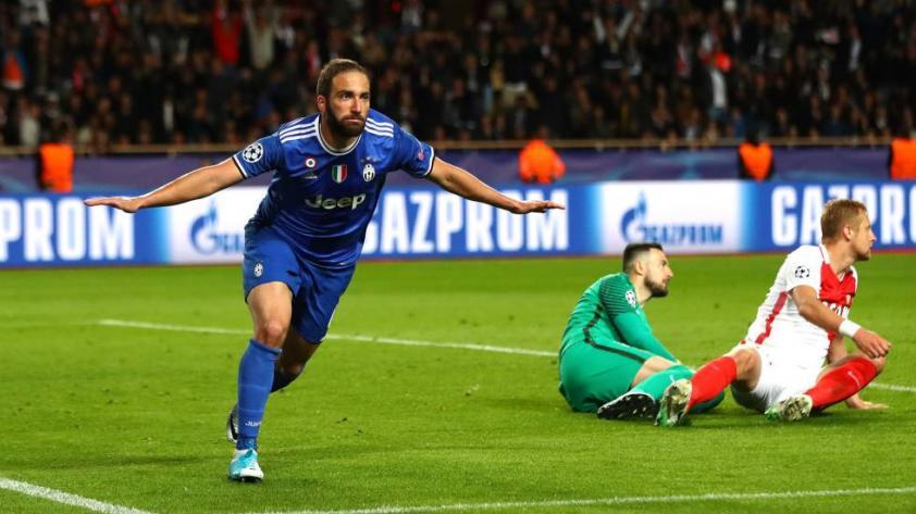 Rumbo a Cardiff: Juventus venció  0-2 a Mónaco en Francia