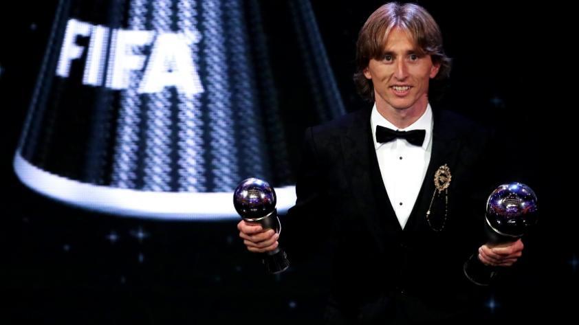 Luka Modrić se quedó con el premio a mejor jugador en los FIFA 'The Best' 2018