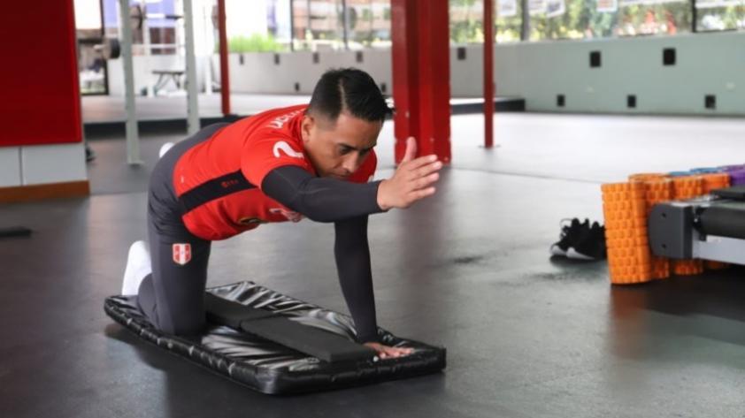 Selección Peruana: Christian Cueva volvió a entrenar en la Videna bajo las instrucciones del comando técnico