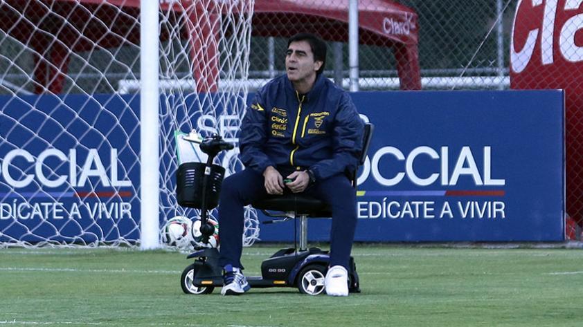 Gustavo Quinteros: