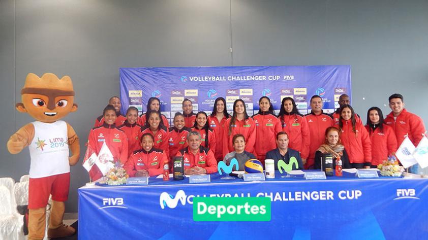 La alegría del voleibol internacional llega a Perú con el Challenger Cup