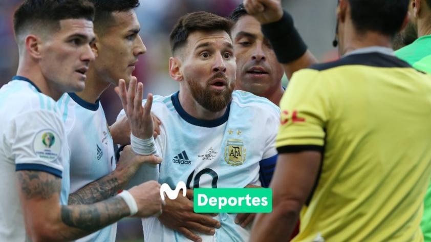 Lionel Messi recibirá una fecha de suspensión y multa económica por parte de Conmebol