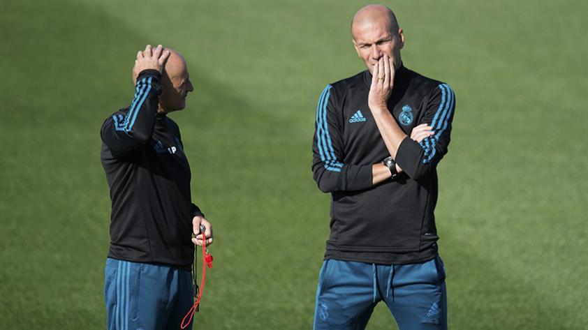 Zidane marca distancia con Guardiola respecto a su posición política