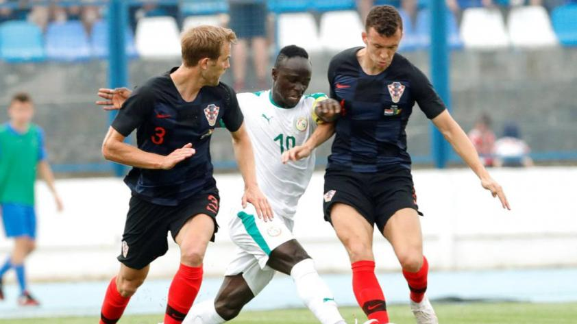 Croacia venció 2-1 a Senegal y quedó listo para Rusia 2018