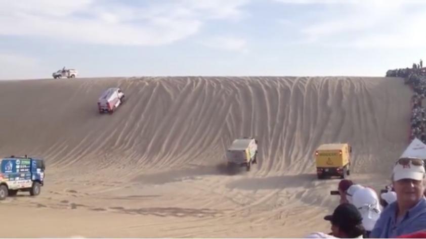 (VIDEO) Dakar 2018: el viral que muestra lo difícil que son las dunas en Perú