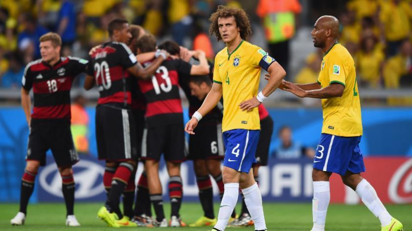 Historia en los Mundiales: cuatro años del 7-1 de Alemania a Brasil, la mayor goleada de Brasil 2014.