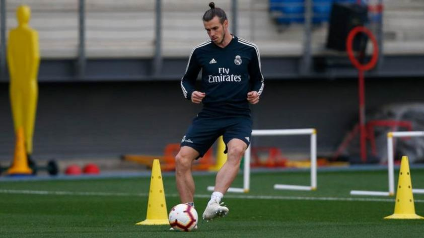 Gareth Bale y Luka Modrid volvieron a los entrenamientos del Real Madrid
