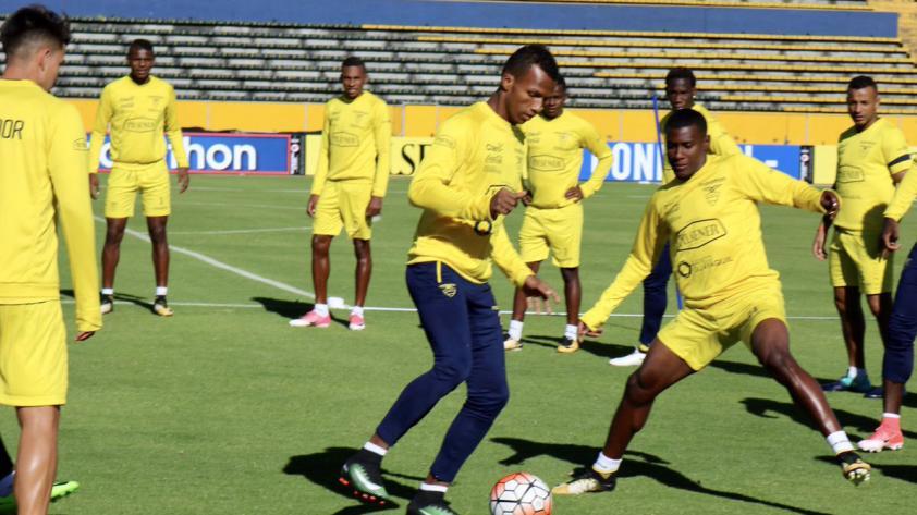 El once de Ecuador para enfrentar a Perú