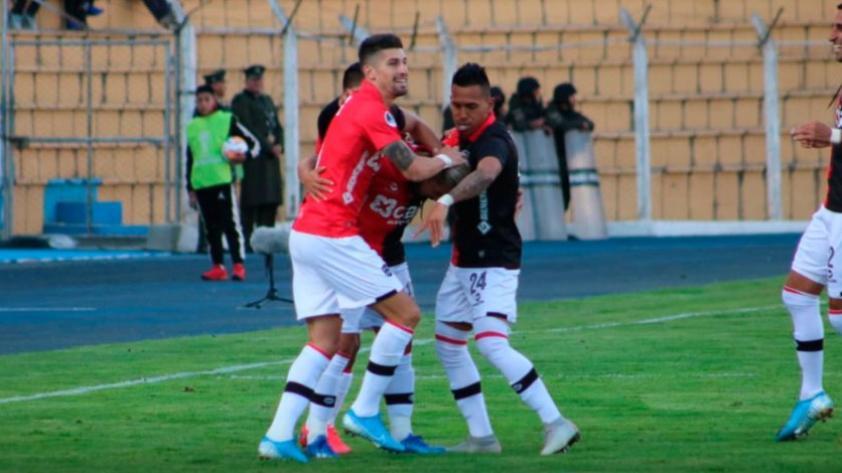 Debut con triunfo: Melgar ganó por 2-0 a Nacional de Potosí en la Copa Sudamericana