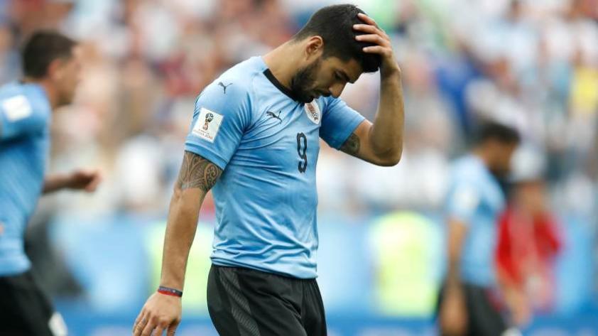 Luis Suaréz no jugará los partidos amistosos de la selección uruguaya