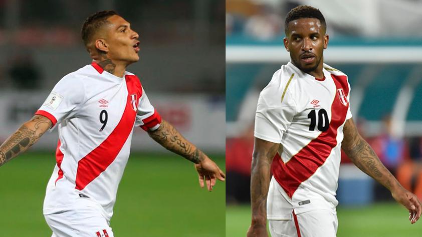 Jefferson Farfán llegó a Lima y se pronunció sobre Paolo Guerrero