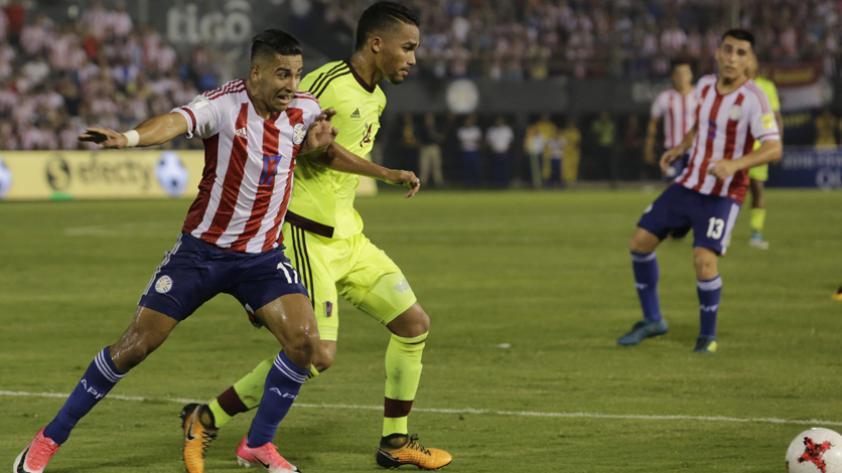 Paraguay cayó 1-0 ante Venezuela y se despidió de Rusia 2018
