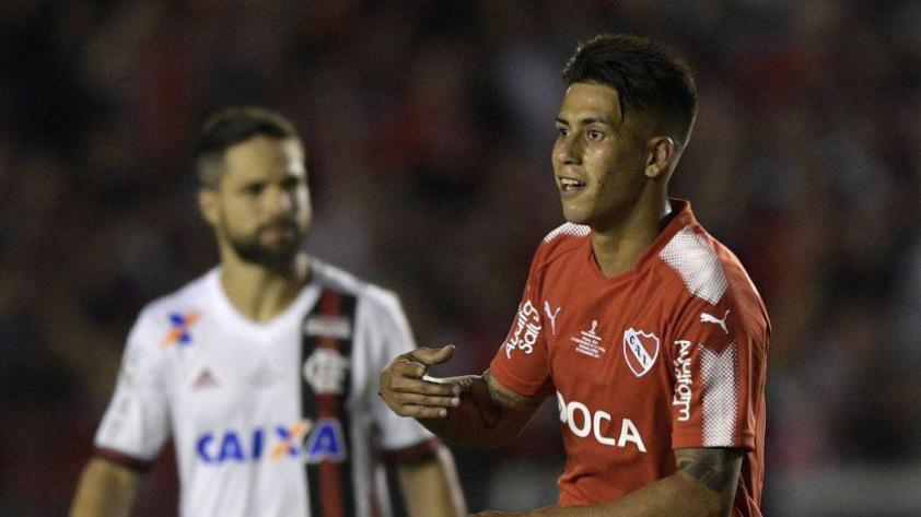 Copa Sudamericana: Independiente sacó ventaja en la final y derrotó 2-1 a Flamengo