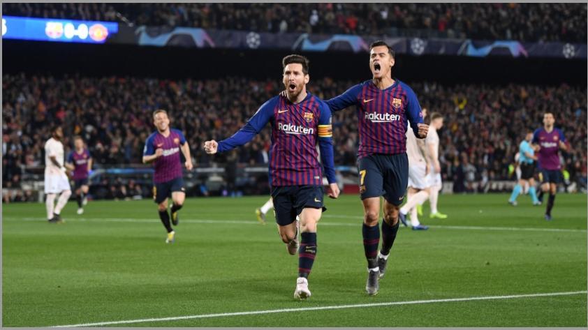 A punta de golazos: Barcelona goleó 3-0 al Manchester United y clasificó a las semifinales de la Chamions League