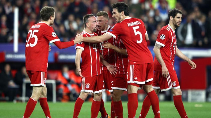 Bayern Munich dio la sorpresa y venció al Sevilla de visitante