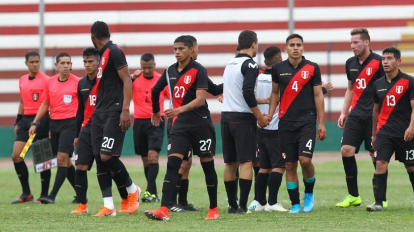 ¡Dura derrota! Selección Peruana sub 23 cayó por 3-0 ante su similar de Colombia