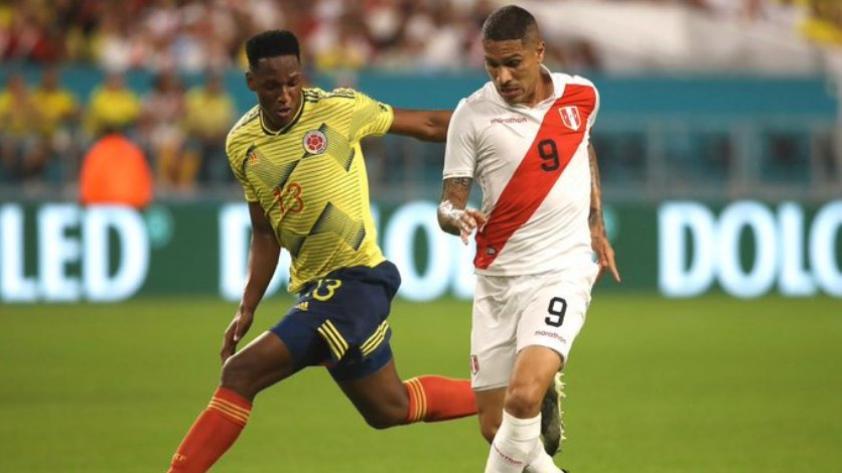 La selección peruana perdió 1-0 con Colombia en su último partido amistoso del año