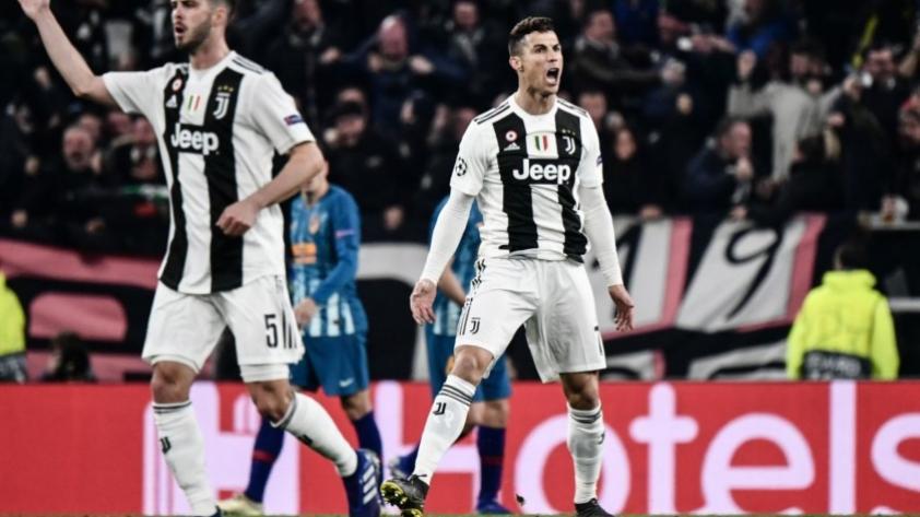 El comandante soy yo: Cristiano Ronaldo abrió el marcador para la Juventus ante el Atlético de Madrid (VIDEO)