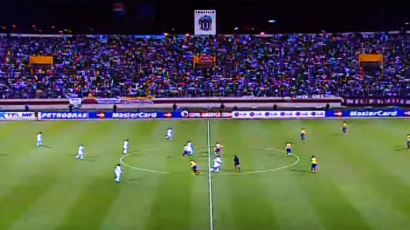 La última vez que Perú jugó en el Mansiche