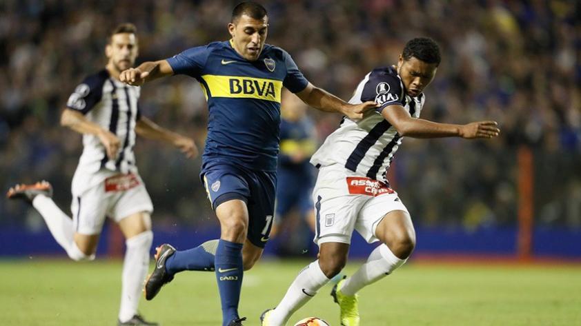 Alianza Lima cayó goleado por Boca Juniors 5 a 0 en La Bombonera por la Copa Libertadores