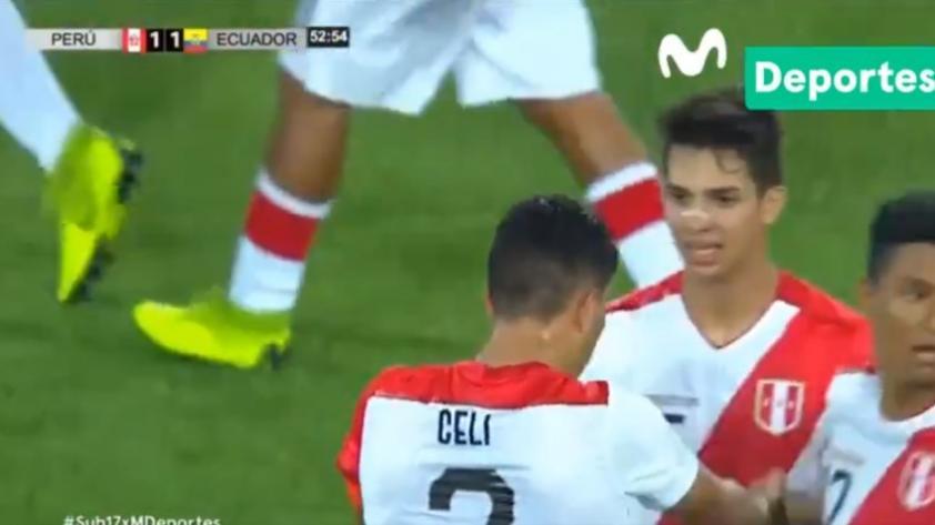 Perú vs. Ecuador: mira el GOLAZO que anotó Yuriel Celi para empatar el partido (VIDEO)