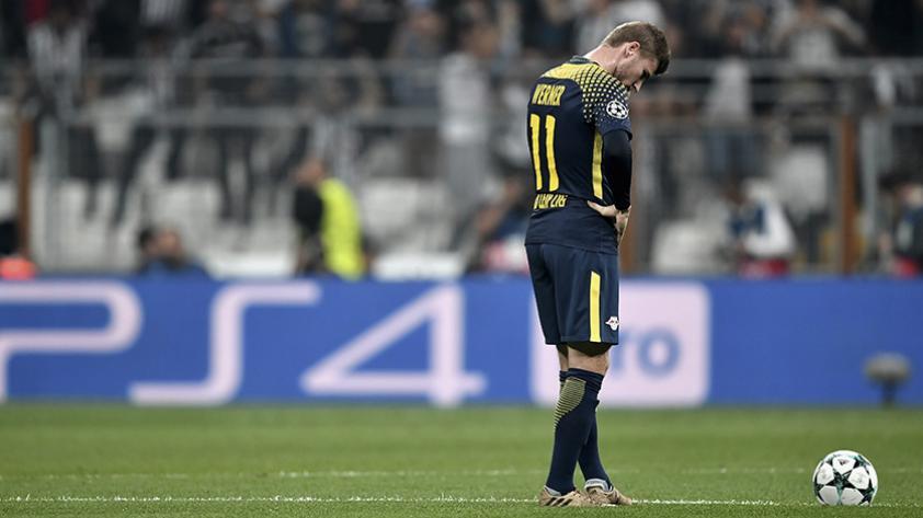 El ruido del Muro Amarillo del Borussia Dortmund deja a Timo Werner en casa