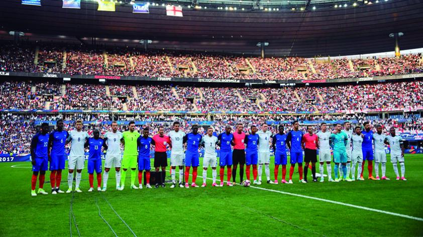 Francia derrotó a Inglaterra con gol triunfal de Dembélé