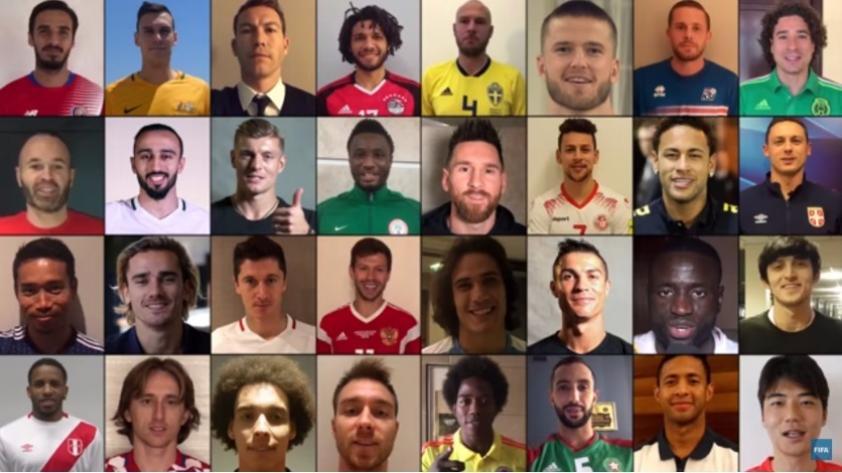 (VIDEO) Con Jefferson Farfán de protagonista: el saludo de las 32 selecciones previo a Rusia 2018
