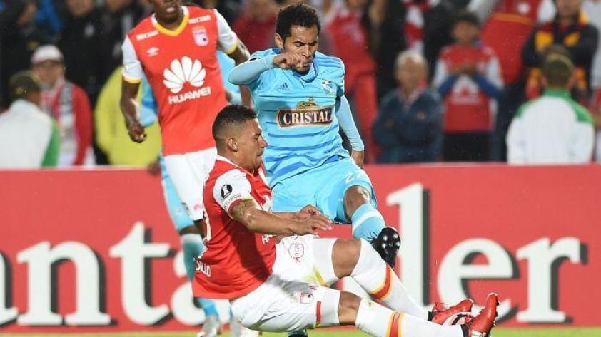 (Copa Libertadores) Cristal cayó en Lima 2- 0 ante Independiente de Santa Fe