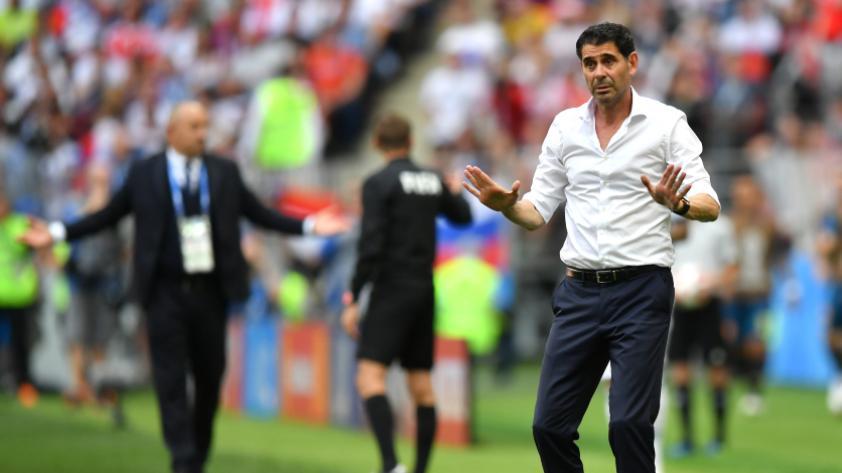 Fernando Hierro dejó su cargo en la Selección de España