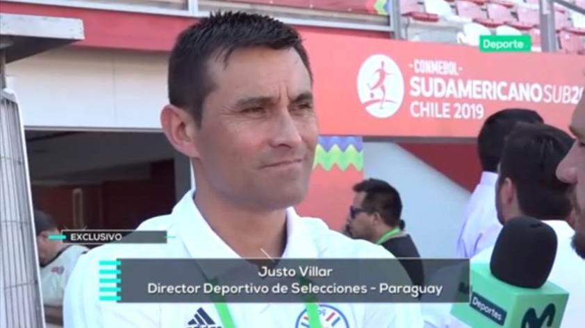 """Justo Villar sobre Christofer Gonzáles: """"Es un jugador de alto nivel"""" (VIDEO)"""