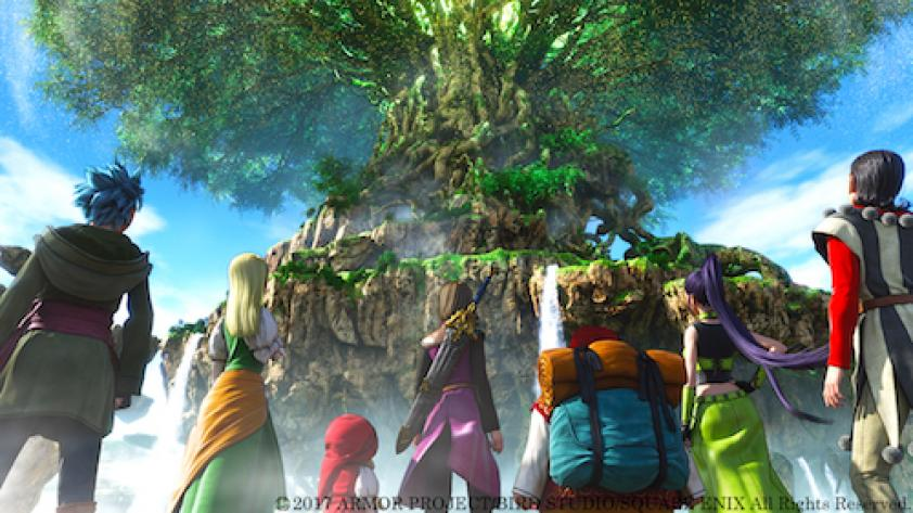 DRAGON QUEST XI llegará a occidente en el 2018