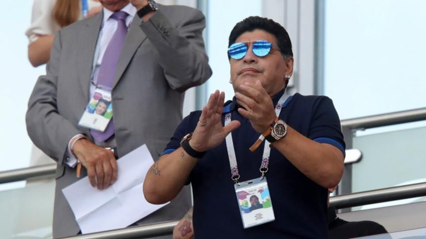 ¿Diego Maradona nuevamente entrenador de Argentina?