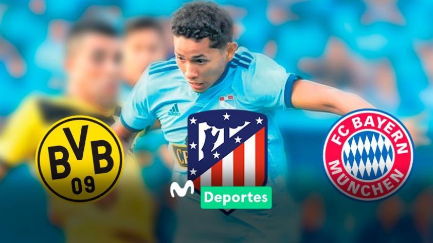 Tres equipos grandes de Europa estarían interesados en Freddy Castro, juvenil de Sporting Cristal