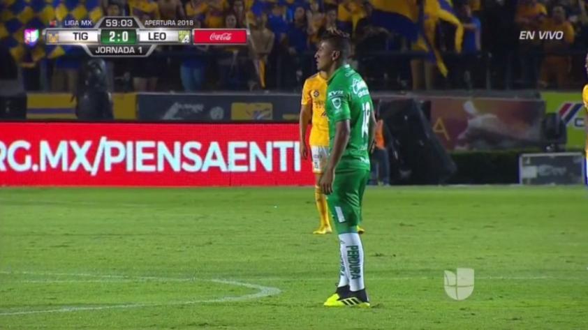 Pedro Aquino perdió en su debut con el León
