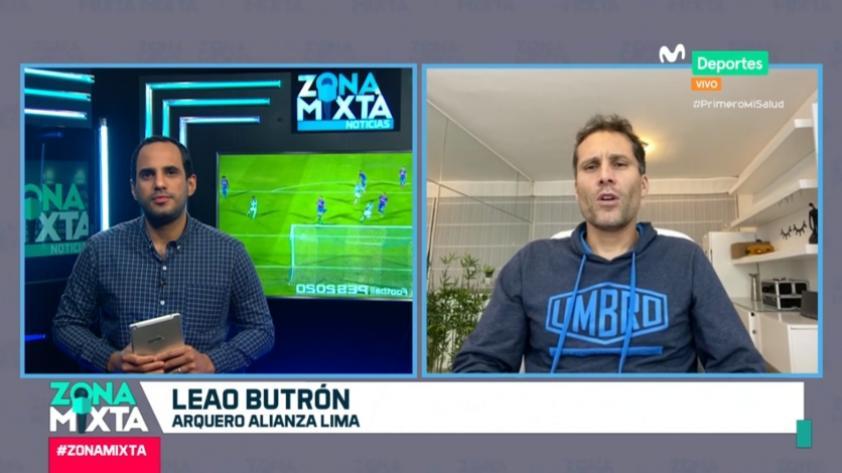 """Leao Butrón en Zona Mixta: """"Sería hermoso campeonar con Alianza Lima y retirarme"""""""