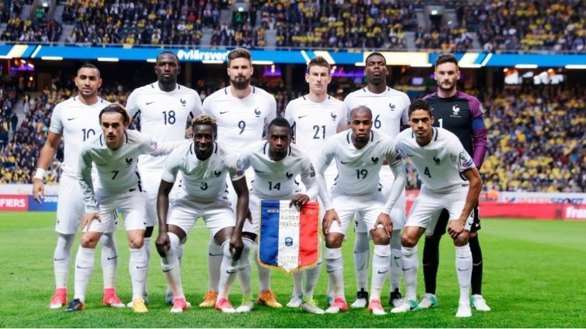 Francia presentó su lista de convocados para amistosos con Colombia y Rusia
