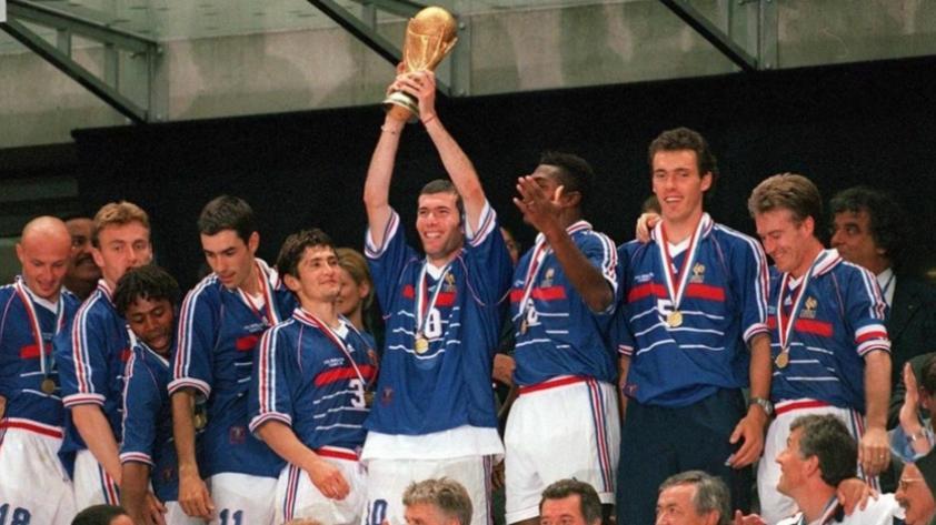Un día como hoy Francia ganaba su primer mundial en 1998