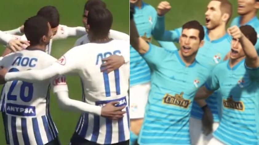 (VIDEO) PES 2018 presentó a Alianza Lima y Sporting Cristal como parte del videojuego
