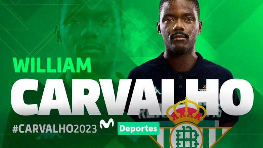 William Carvalho es nuevo jugador del Betis