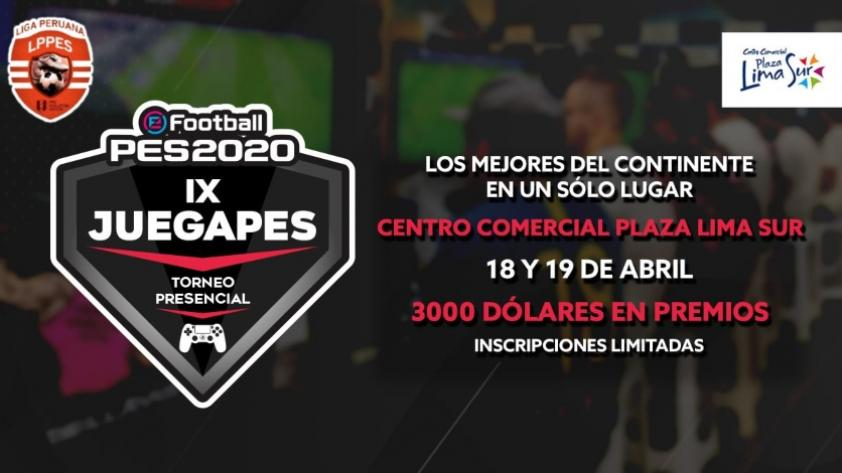 IX JUEGAPES: la competencia que reúne a los fanáticos del fútbol virtual