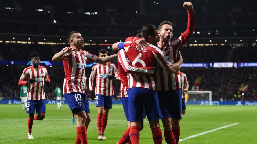 Atlético de Madrid ganó por 2-0 a Lokomotiv y logró su pase a octavos de final de la Champions League