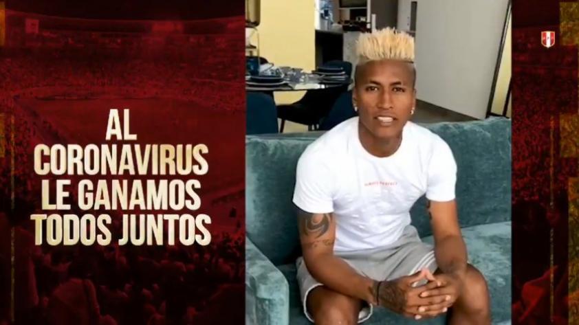 Coronavirus: La Selección Peruana y el mensaje para enfrentar al COVID-19  (VIDEO)