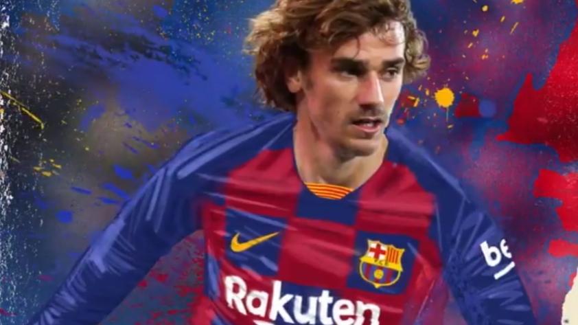 C'est magnifique! Antoine Griezmann ya es jugador del FC Barcelona