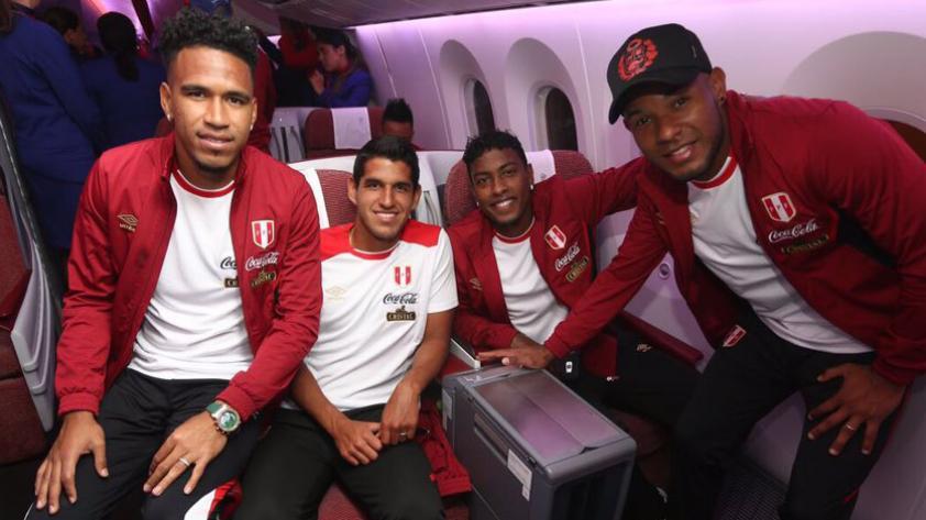 Selección Peruana: La bicolor partió rumbo a Nueva Zelanda para afrontar el repechaje