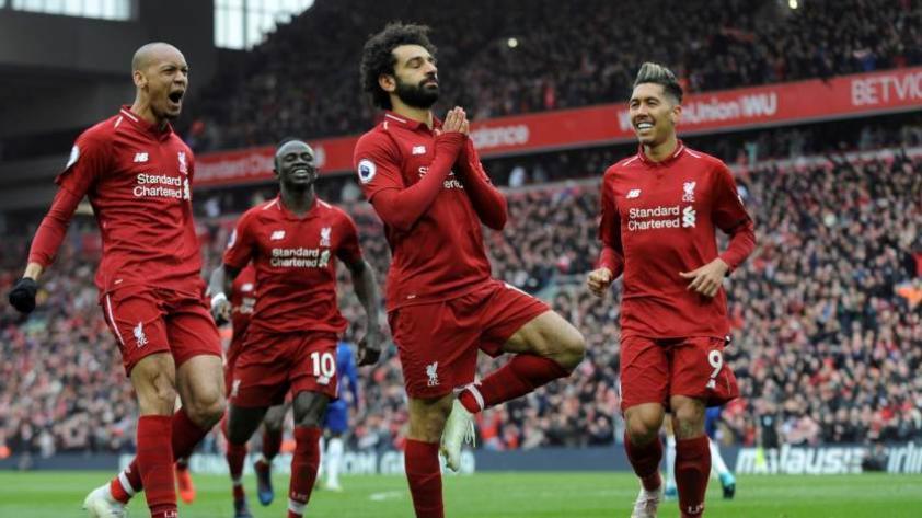 ¡Con golazo de Salah! Liverpool le gana 2-0 al Chelsea (video)