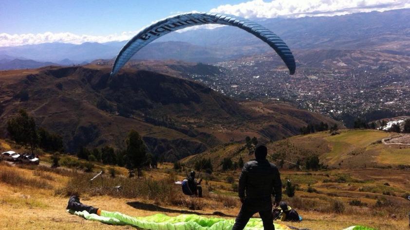 Parapente en Ayacucho: empieza el Open XC 2017