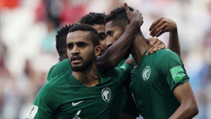 Arabia Saudita le ganó 2-1 a Egipto por la tercera fecha del grupo A de Rusia 2018