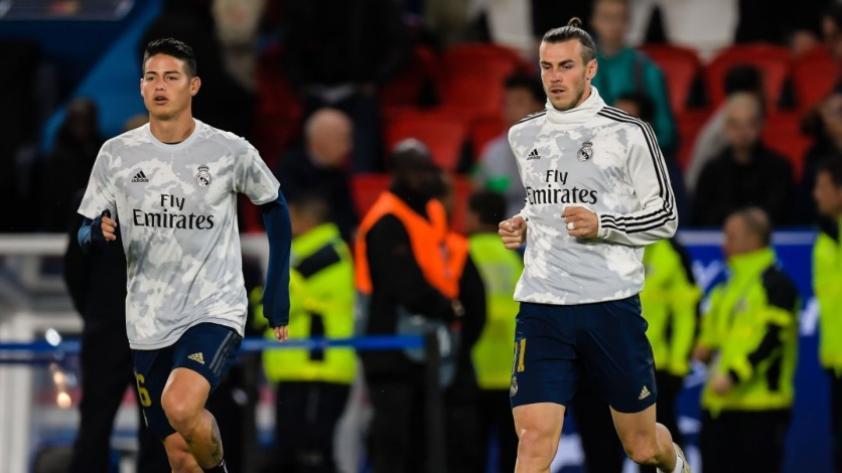 Fuerte decisión: Zidane afirmó que Gareth Bale y James Rodríguez no serán tomados en cuenta en el Real Madrid hasta nuevo aviso