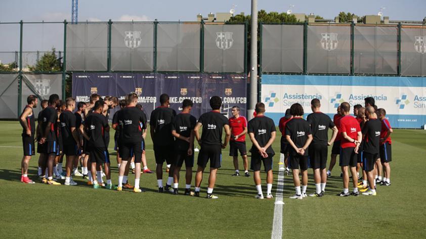 Valverde se siente aliviado de tener a Messi en los entrenamientos